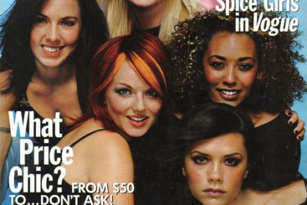 spice girls for vogue
