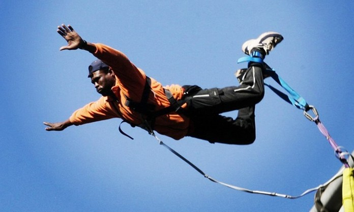 Bungee Jump for One at Bungee Mogale