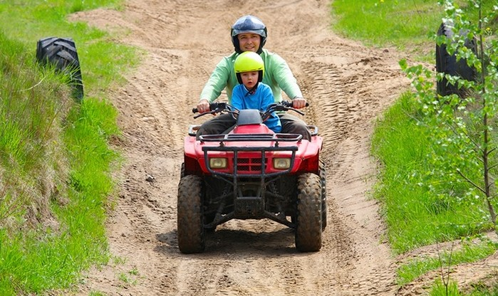 Quad Biking Experience at Earth Adventures